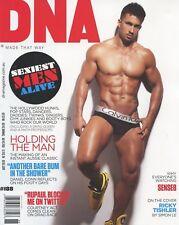 DNA Magazine #188 gay men Sexiest Men Alive 2015 RICKY TISHLER
