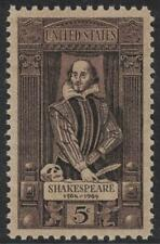 Scott 1250- William Shakespeare, Playwright- MNH 5c 1964- mint unused stamp