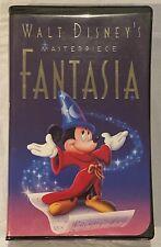 Walt Disney's Masterpiece Fantasia Original 1991 VHS