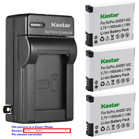 Kastar Battery Wall Charger for AHDBT 001 AHDBT 002 & Gopro HD Motorsports HERO
