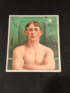 TOMMY O'TOOLE BOXING BOXER 1910 MECCA T218 CHAMPION ATHLETE PRIZE FIGHTER E Mint