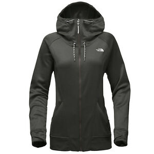 THE NORTH FACE Womens 2018 SHELLY FLEECE HOODIE Peat Grey