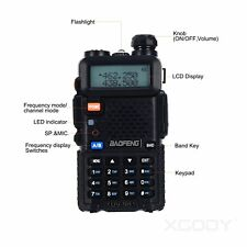 Baofeng UV-5R Walkie Talkie Dual Band Frequency Range UHF/VHF With 128 Channels