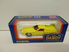 TOMICA DANDY 1/43 F02 LOTUS EUROPA SPECIAL in yellow,  factory mint boxed ,