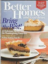 Better Homes and Gardens Magazine November 2008 (Buy 1 Get others at 50% off )