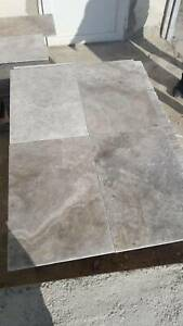 Travertine Silver Tumbled and unfilled 610x406x12