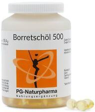 Huile de bourrache • 150 gélules de 500 mg chacune • avec acides gras omég