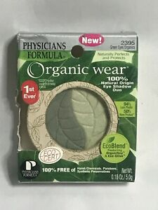 Physicians Formula Organic Wear Eye Shadow Duo, # 2395 Green Eyes Organics