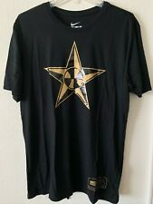 Nike Team USA Basketball Never Stops Hero Men's T-Shirt Black / Gold