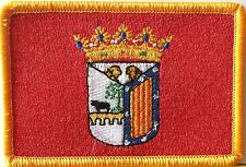 Salamanca Spain / Espana Flag Embroidered Iron-On Patch ARMY Military Emblem