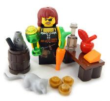 NEW MEDIEVAL LEGO PEASANT HAG MINIFIG minifigure castle bar maid female wench