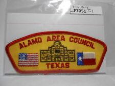 ALAMO AREA COUNCIL T-1 FIRST CSP (Rare)  F7051