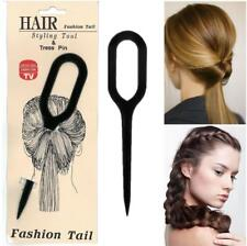 Ladies Girl Hair Styling Fashion Tail Tress Pin Ponytail Topsy Braid Hair Style