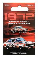 PETER BROCK - 1972 HARDIE-FERODO 500 BATHURST WIN PIN #1