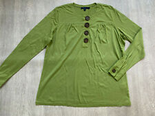 BODEN green cotton/modal  Top  size  XL fit uk  18-20.  NEW