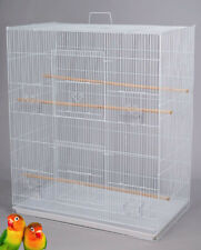 Large Breeder Flight Bird Cage For Parakeets Lovebirds Budgies Finches Aviary