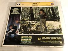 CGC 9.8 SS Swamp Thing 1982 Lobby Card #5 signed by Adreinne Barbeau 11x14
