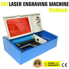 40W CO2 USB Port Laser Cutting Cutter Engraving Machine Engraver Laser Printer