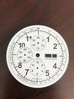 DAY/DATE XXL Chronograph Zifferblatt für ETA Valjoux 7750 - Neu
