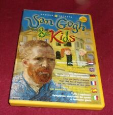 Famous Artists: Van Gogh & Kids RARE PC software CD-Rom, six languages