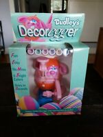 Dudley's decorEGGer egg machine markers 1989 Vintage unopened and Brand new. USA