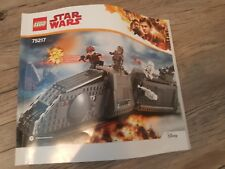 LEGO Star Wars Set #75217 Imperial Conveyex Transport INSTRUCTIONS MANUAL ONLY!