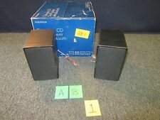 INSIGNIA NS‑SH513 COMPACT SHELF CD SPEAKERS ONLY AUDIO RADIO SOUND 25W RMS