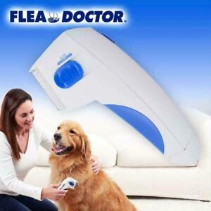 Electric Flea Comb-Great For Dogs & Cats Pet Brush 1 Control Tick Anti x W0C8