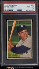 1952 Bowman Eddie Yost #31 PSA 8 NM-MT (PWCC)