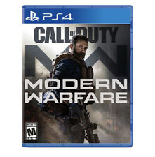 Call of Duty Modern Warfare (PlayStation 4 PS4, 2019)