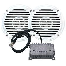 JENSEN CPM50 Bluetooth Amplifier Package w/JAHD240BT 80W, 2-Channel Bluetooth Am