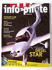 INFO-PILOTE n°588 du 03/2005; Essai DA-40 D Star Diesel/ Dossier Club/ Bourg en