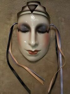 CLAY ART San Francisco Wall Hanging Mask About Face With the original label