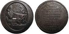 """Monneron de 5 Sols au Pacte Fédératif 1792, tranche """"Départemens"""""""