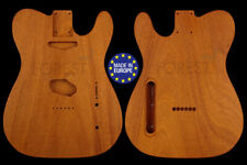 Telecaster ® Rear routed Body Electric guitar 1 piece Honduras Mahogany, unique