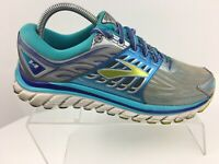 Brooks Glycerin 14 Blue/Gray Athletic Running Shoes Sneakers Women's Size 9 B