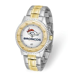 NFL Denver Broncos Mens Competitor Watch Style: XWM3338 $107.90
