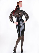 302 Latex Rubber Gummi Outfits dress Skirt shirt blouse catsuit customized 0.4mm