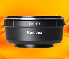 Rambex Pentax PK K Lens to Fuji Fujifilm X-mount Body Adapter Ring XF XC