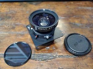 Nikon NIKKOR SW 75mm f/4.5 Lens EX+ 4x5 Wide Angle Lens
