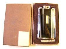 Nice Vintage Ronson Smart Set Deco Art Metal Works Case Lighter In Box Sparks