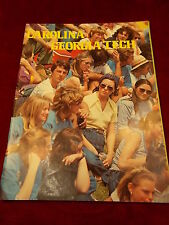 "#11 LOT OF RON ""SUNSHINE"" BASS So CAROLINA SC GAMECOCKS, 1977 PROGRAM vs Ga TECH"