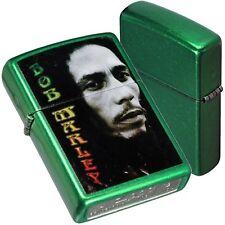 ZIPPO MUSIC-BOB MARLEY 28256 Accendino Collezionismo Lighter Idea Regalo Reggae