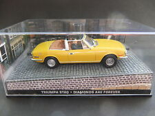 TRIUMPH Stag. 007 James Bond... 1:43... #778. febbre dei diamanti