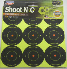 "Birchwood Casey Shoot NC Targets 2"" Round 108 targets AR5-12 #34210 NEW"