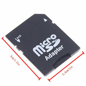 microSD Card Adapter to SD SDHC SDXC CONVERTER READER A-RAM ARSDADAPTER TF to SD