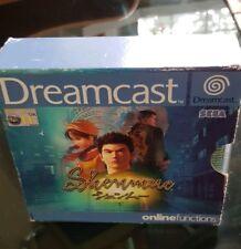 SHENMUE 1 SEGA DREAMCAST UK PAL GAME RARE & COMPLETE 4 DISCS INSTRUCTIONS & CASE