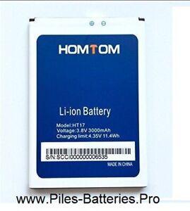 Batterie HOMTOM HT17 ou HT17 PRO de 3000mAh - livraison rapide