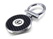 Genuine Lexus Snap Shut Rhodium Plated Key Ring Keyring - GBNGAFBL99