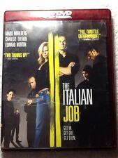 The Italian Job (HD-DVD, 2003) Mark Wahlberg WORLDWIDE SHIP AVAIL